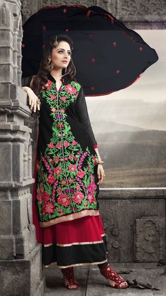 Elegant Collection For Special Occasion:atisundar exquisite   in Black And Red - 5189 - atisundar - 3 - click to zoom