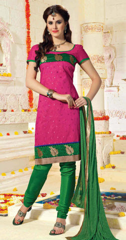 atisundar Karishma: Charismatic Unstitched Embroidered Straight Cut Salwar Kameez - 3746 - atisundar - 1 - click to zoom