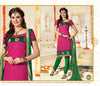 atisundar Karishma: Charismatic Unstitched Embroidered Straight Cut Salwar Kameez - 3746 - atisundar - 4 - click to zoom