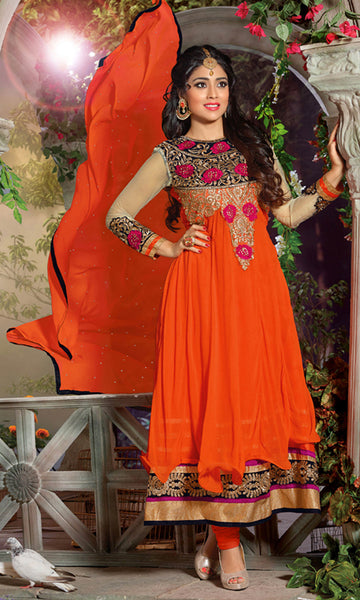 Shriya:atisundar Smart   in Orange - 4958 - atisundar - 2 - click to zoom