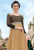atisundar Gita: Resplendent Unstitched Embroidered Anarkali Salwar Kameez - 3988 - click to zoom