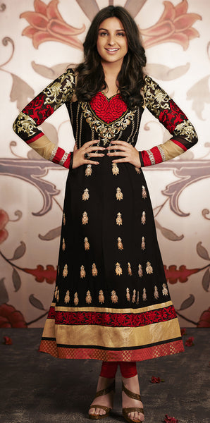 Parineeti Chopra Collection:atisundar divine   in Black - 4812 - atisundar - 4 - click to zoom