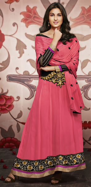 Parineeti Chopra Collection:atisundar Alluring   in Pink - 4813 - atisundar - 2 - click to zoom