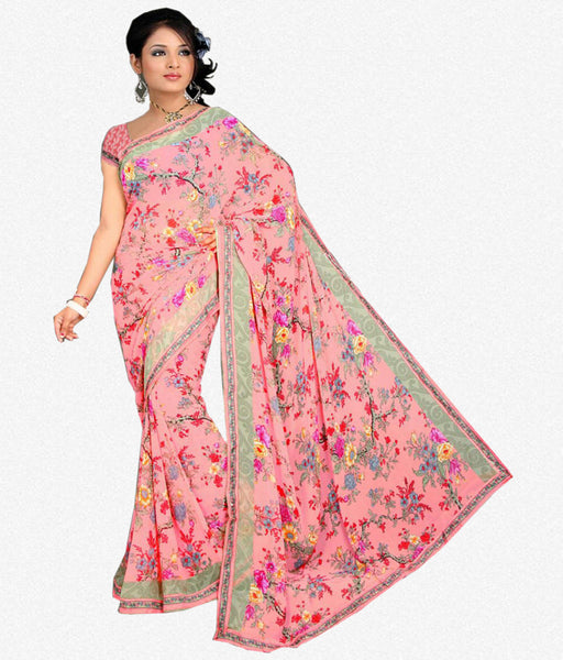 Designer Sraees!:atisundar fair Designer Party Wear Sarees in Multi  - 7222 - atisundar - 2 - click to zoom