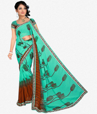 Designer Sraees!:atisundar classy Designer Party Wear Sarees in Multi  - 7224 - atisundar - 1 - click to zoom