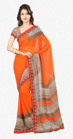 Designer Sraees!:atisundar Attractive Designer Party Wear Sarees in Multi  - 7269 - atisundar - 2 - click to zoom