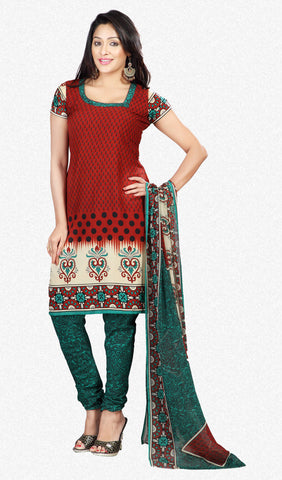 Printed Suits:atisundar appealing Brown Designer Printed Unstitched Suits - 6958 - atisundar - 1 - click to zoom