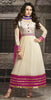 The Karishma Kapoor Collection:atisundar elegant White Blended Semi Pure Georgette Embroidered Anarkali - 6056 - atisundar - 2 - click to zoom