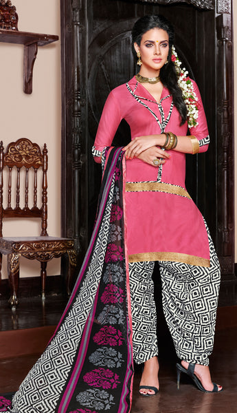 Designer Patiala Suit:atisundar comely Pink Designer Patiala Suits - 7085 - atisundar - 3 - click to zoom
