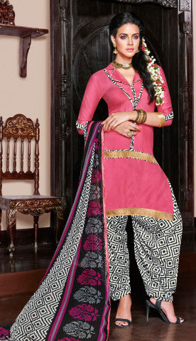 Designer Patiala Suit:atisundar comely Pink Designer Patiala Suits - 7085 - atisundar - 1 - click to zoom