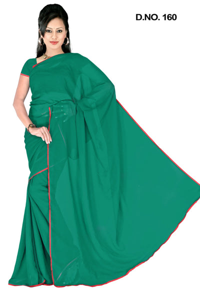 atisundar Lovely Green Colored Saree - atisundar - 3 - click to zoom