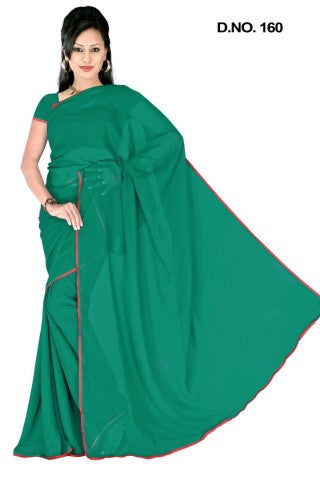 atisundar Lovely Green Colored Saree - atisundar - 1 - click to zoom