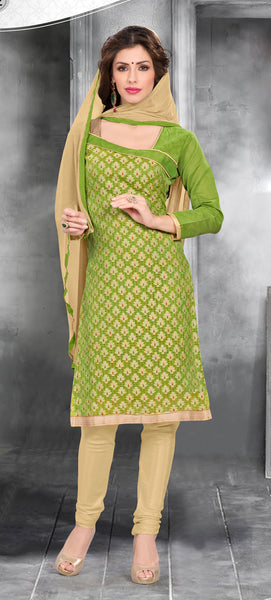 Embroidered Straight Cut Suit:atisundar Superb Green Designer Straight Cut Embroidered Suits - 8741 - atisundar - 2 - click to zoom