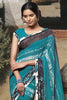 Jasmeen: Designer Printed Sarees:atisundar   superb Designer Printed Saree in Sea Green  - 5159 - click to zoom