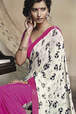Florence:atisundar Pretty Pink Colored Saree - 4275 - atisundar - 4