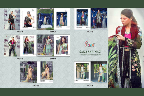 Sana Safinaz By Shree Fab