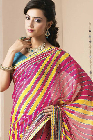 atisundar Great Pink Colored Saree - 4054 - atisundar - 4