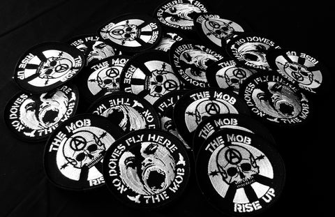 The Mob - Embroidered Patch (Choice from 2 designs)