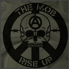 The Mob T-Shirt - Rise Up Skull