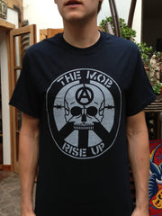 The Mob T-shirt - Rise Up Skull (Black)