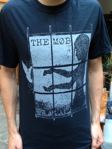 The Mob T-shirt - Freedom Dove (Grey or Red Ink)