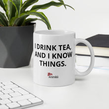 Load image into Gallery viewer, Elder Mug - I drink tea and I know things.