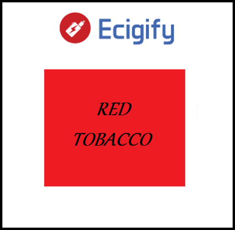 Ecigify: Red Tobacco E liquid - Hobart Vape Shop, Australia