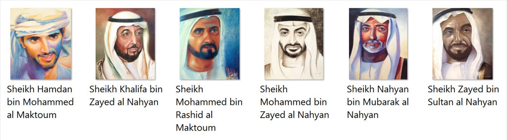 Cathy Deniset sheikhs portraits series
