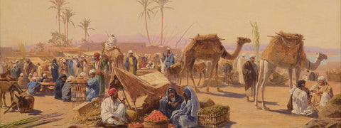 A Market in Egypt
