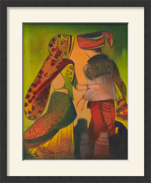 Untitled - Vrindavan Solanki - Limited edition prints Dubai - MONDA Gallery - Indian artist
