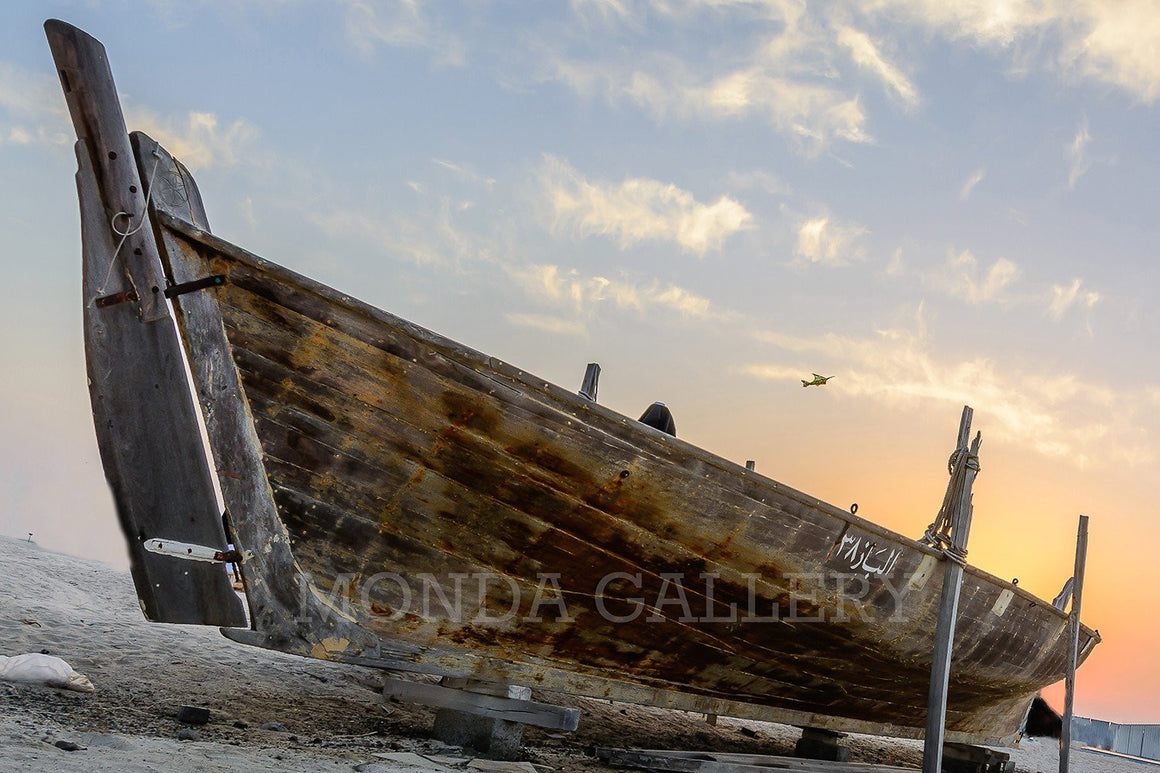 Fishing Boat on Kite Beach - MONDA Gallery