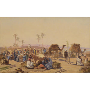 A Market in Egypt - MONDA Gallery
