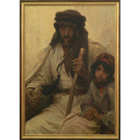 Bedouin and Young Girl