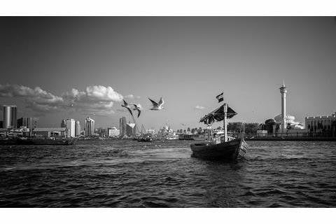 Freedom over Dubai Creek - MONDA Gallery