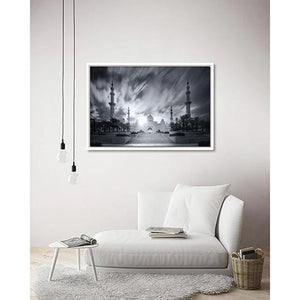 Eternal Light on living room wall