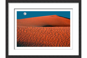 Framed Paper Moonrise