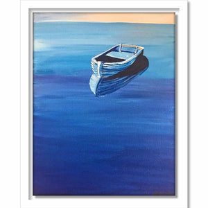 Framed The Boat with the Blues