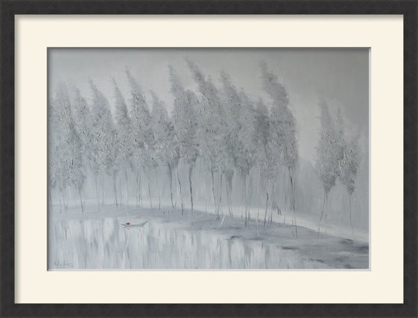 Nguyen Ba Tuan - Early Winter - Limited Edition Print Dubai - Vietnamese artist - MONDA Gallery