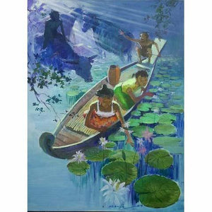 Fetching The Lotus - MONDA Gallery