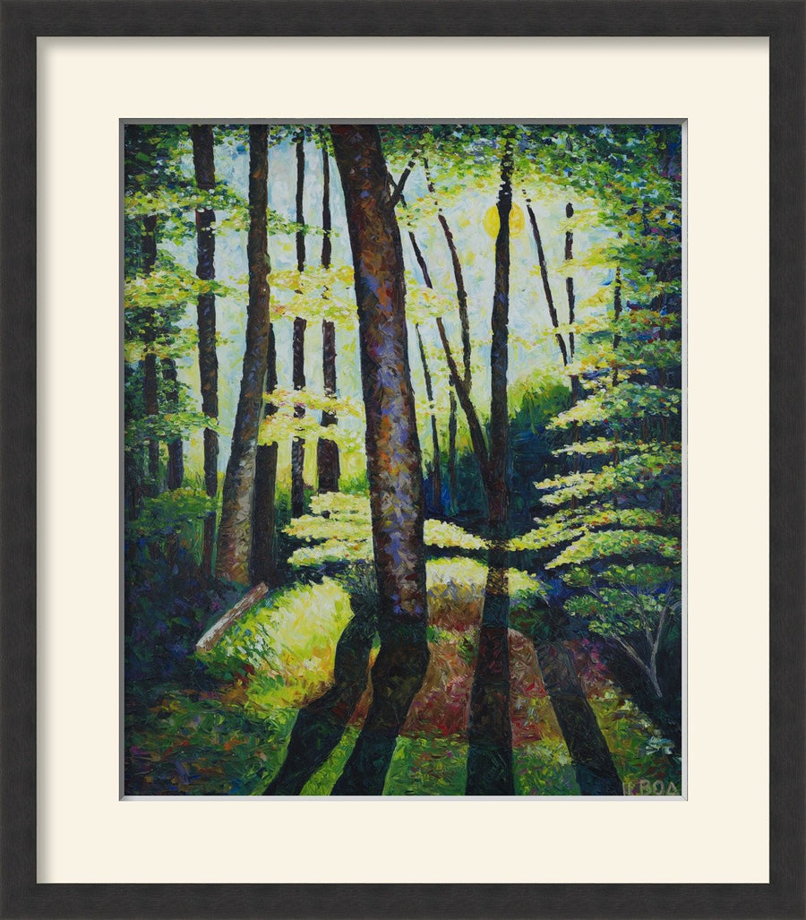 The Givisiez Forest (figurative) - MONDA Gallery