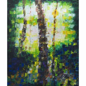 The Givisiez Forest (abstract) - MONDA Gallery