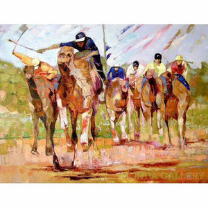 Camel Race (sold) - MONDA Gallery