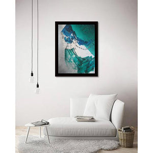Mystical Allure III on living room wall