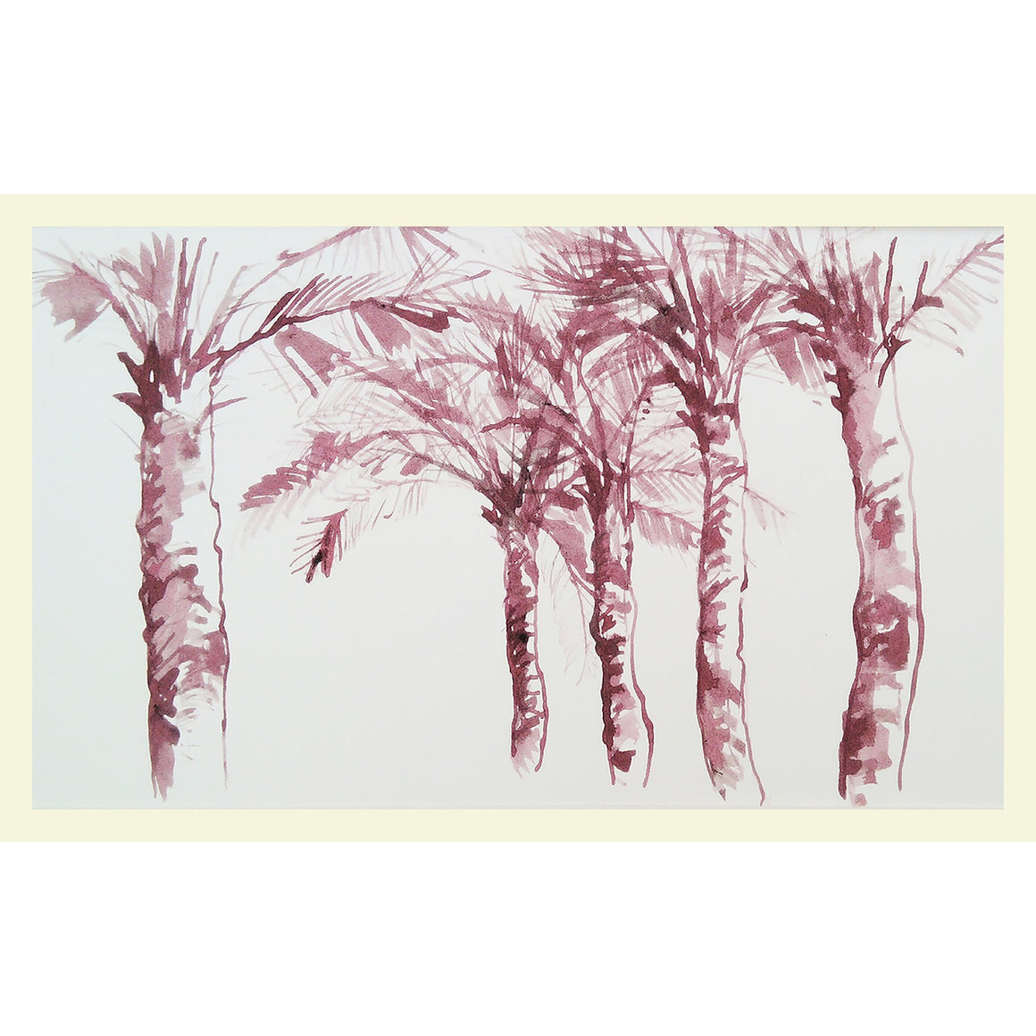 Rose palms - MONDA Gallery