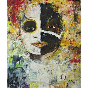 White Mask 1 - MONDA Gallery