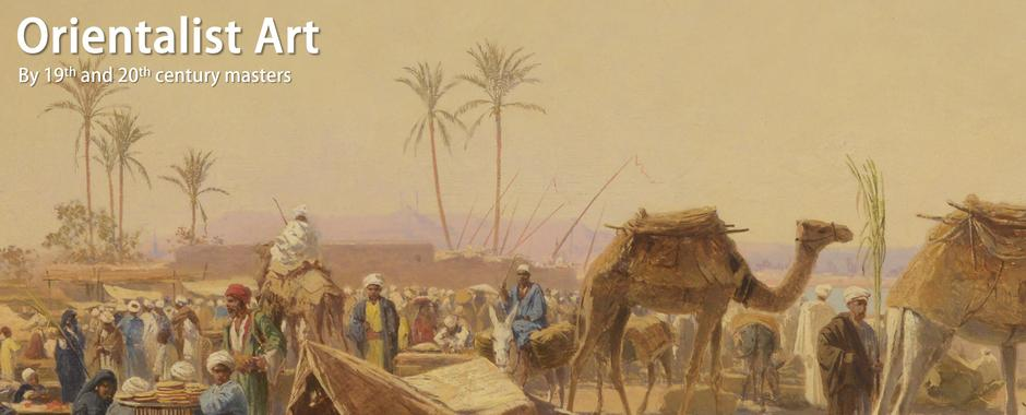 Orientalist art by 19th and 20th century art