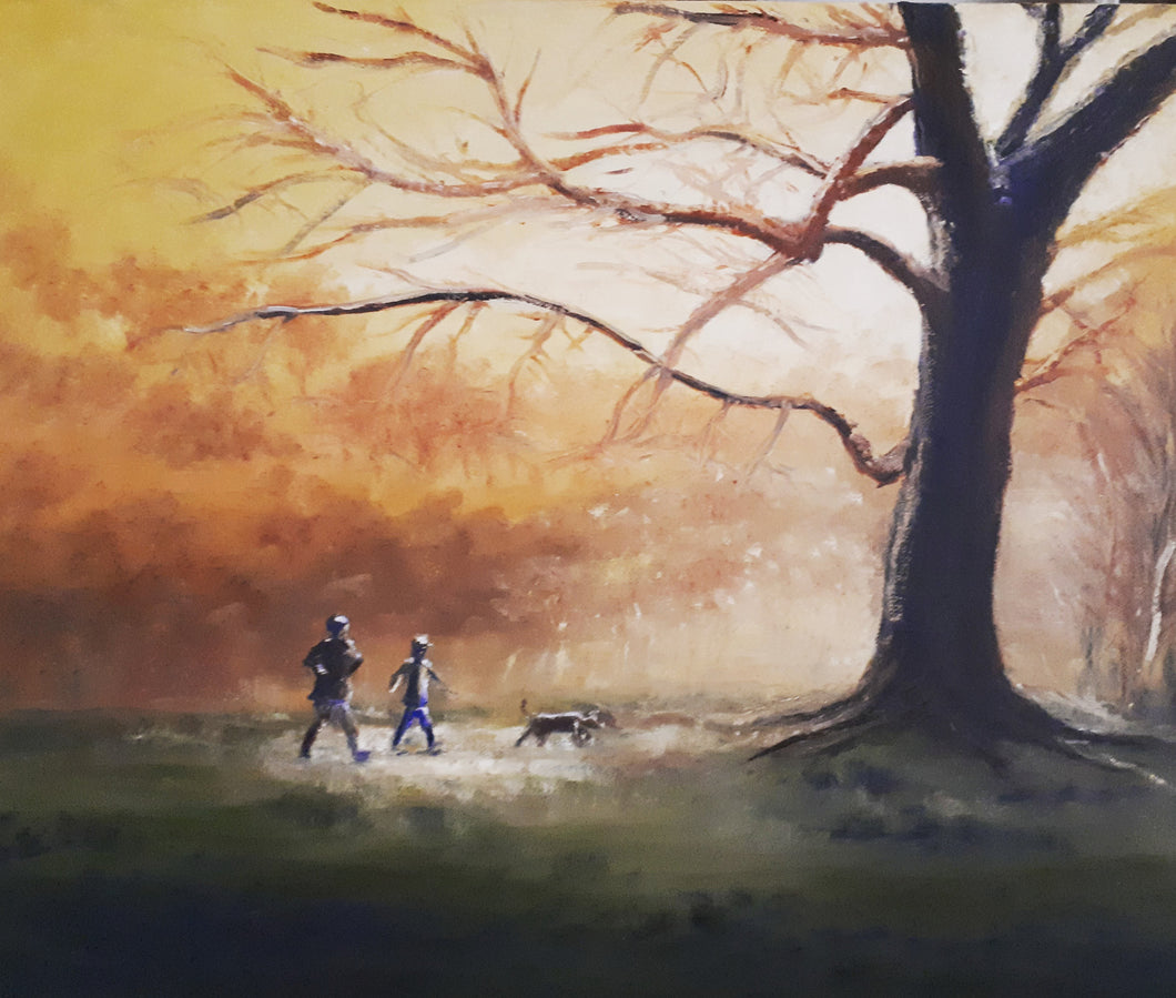 Walk in the park - Kate Knowles Artist