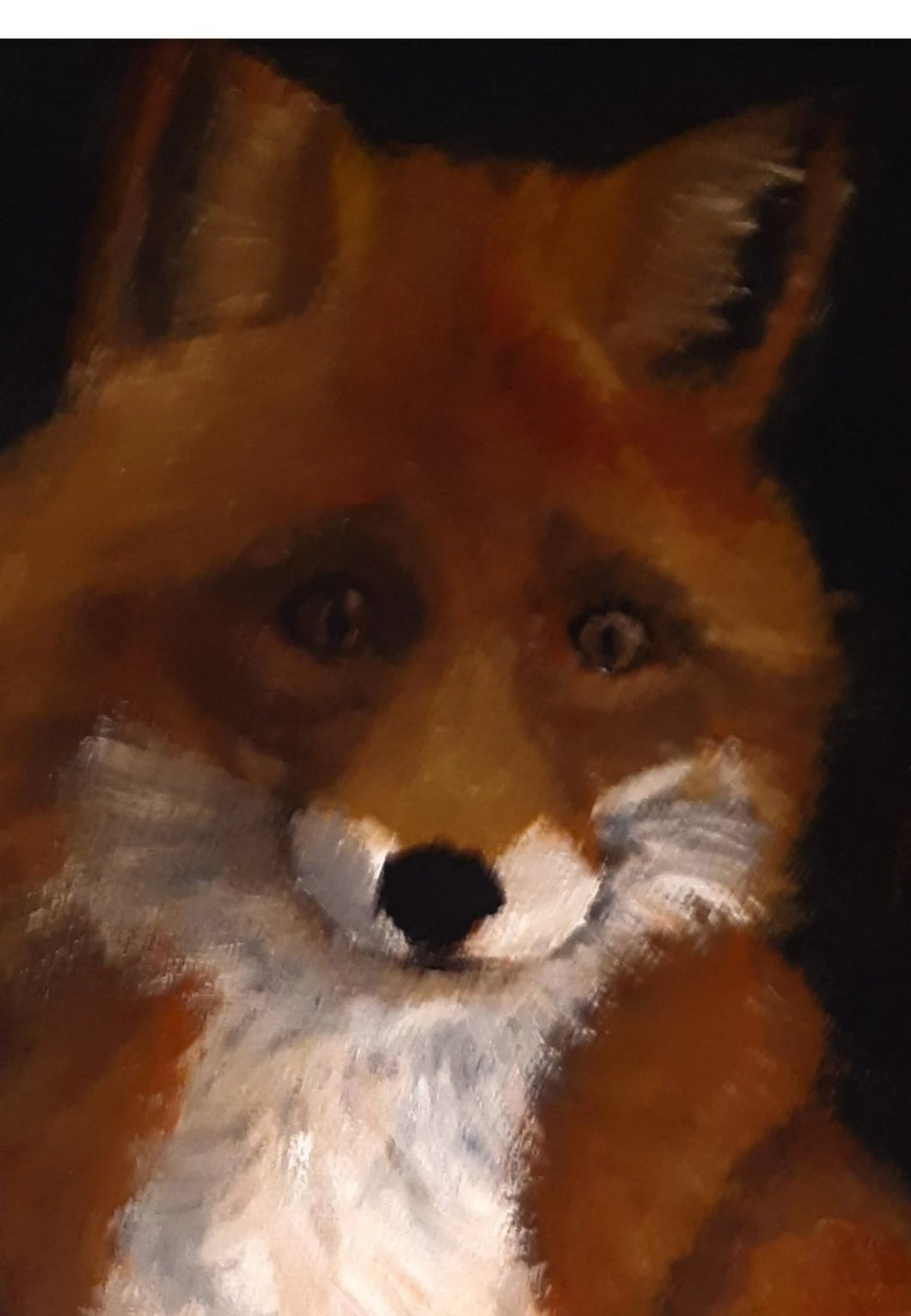 Portrait of a Fox - Kate Knowles Artist