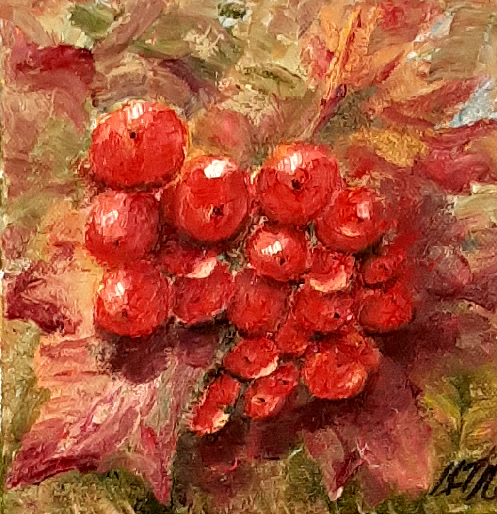 winter berry - Kate Knowles Artist