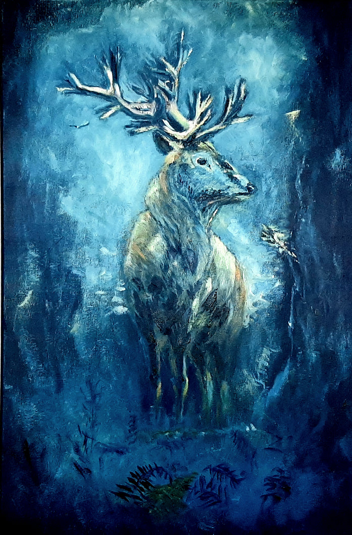 wolf - Kate Knowles Artist